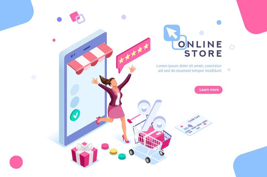 How to setup a online shop